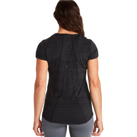 Marmot Aura T-shirt Femme, black